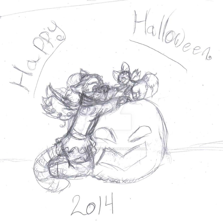Happy Neopets Halloween by Wolfkisses4bidden