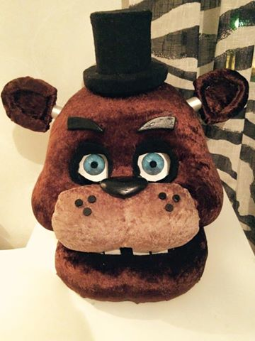 .Freddy's head. by MOTKK