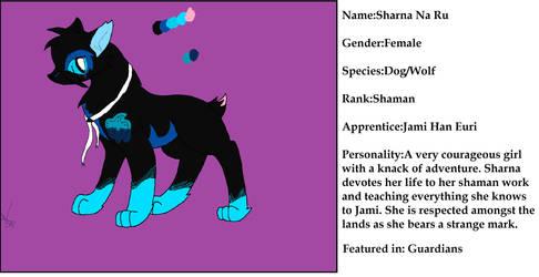 Sharna Reference Sheet by JK-Draws