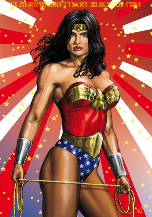 Wonder Woman by Ulderix