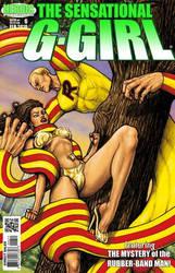 SENSATIONAL G-GIRL #6 COVER ARTWORK by Ulderix