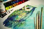 Batik - Owl