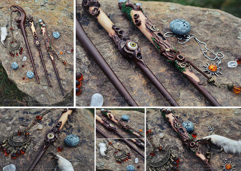 Magic wands for the Witches of the Forest
