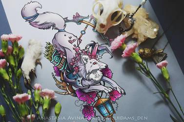 Fantasy Fox by quidames