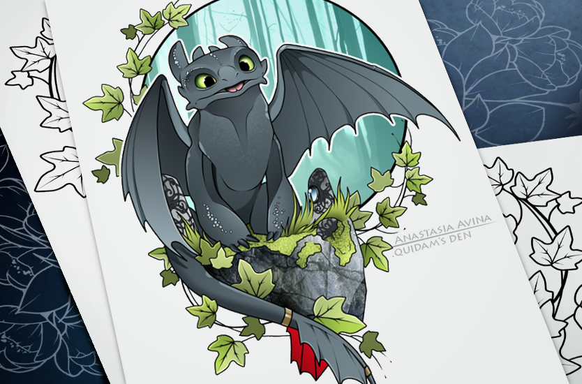 Toothless by quidames