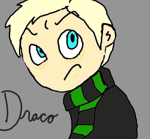 Draco Malfoy Chibi by cheesebucket100