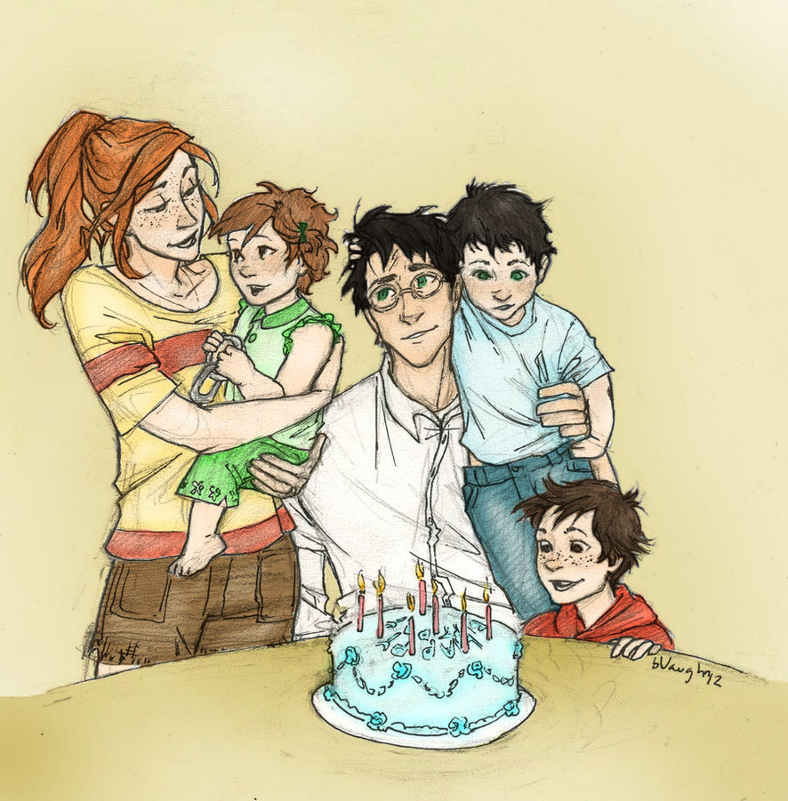 Happy Birthday Harry by burdge-bug colored by cheesebucket100
