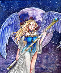 Angel of the moon