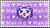 Makiko Love Stamp by tamagotchi