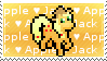 Apple Jack Stamp by tamagotchi