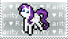Rarity Stamp by tamagotchi