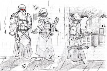 Helghast troopers