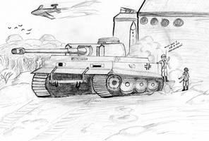 Tiger Tank WWII