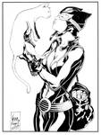 Catwoman 'Here Kitty' inks