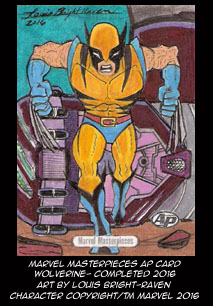 Marvel Masterpieces AP Wolverine (Available) by Bright-Raven