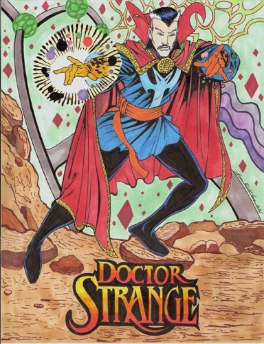 Doctor Strange (2014) SOLD by Bright-Raven
