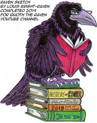 Quoth The Raven Louis Bright-Raven Season1 Image