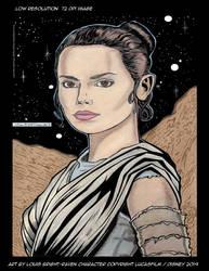 Star Wars: Rey Low-Res 72 DPI