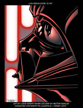 Darth Vader Print - Low res image 72 DPI