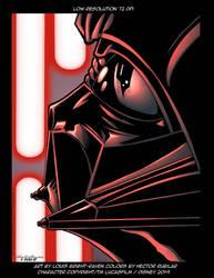 Darth Vader Print - Low res image 72 DPI