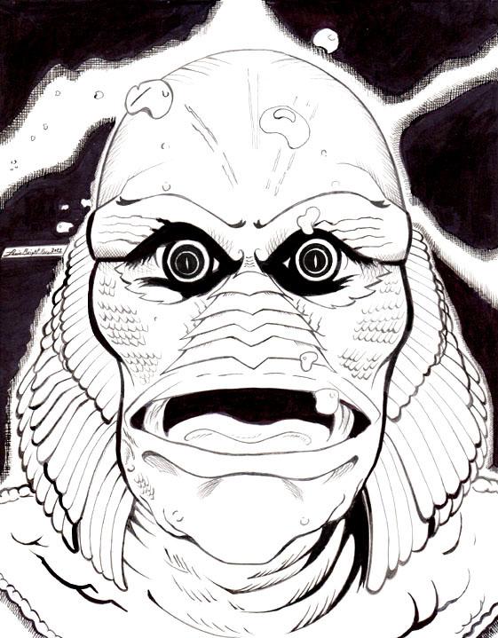 Creature of the Black Lagoon 4-2021