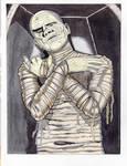 Boris Karloff As The Mummy April 2021