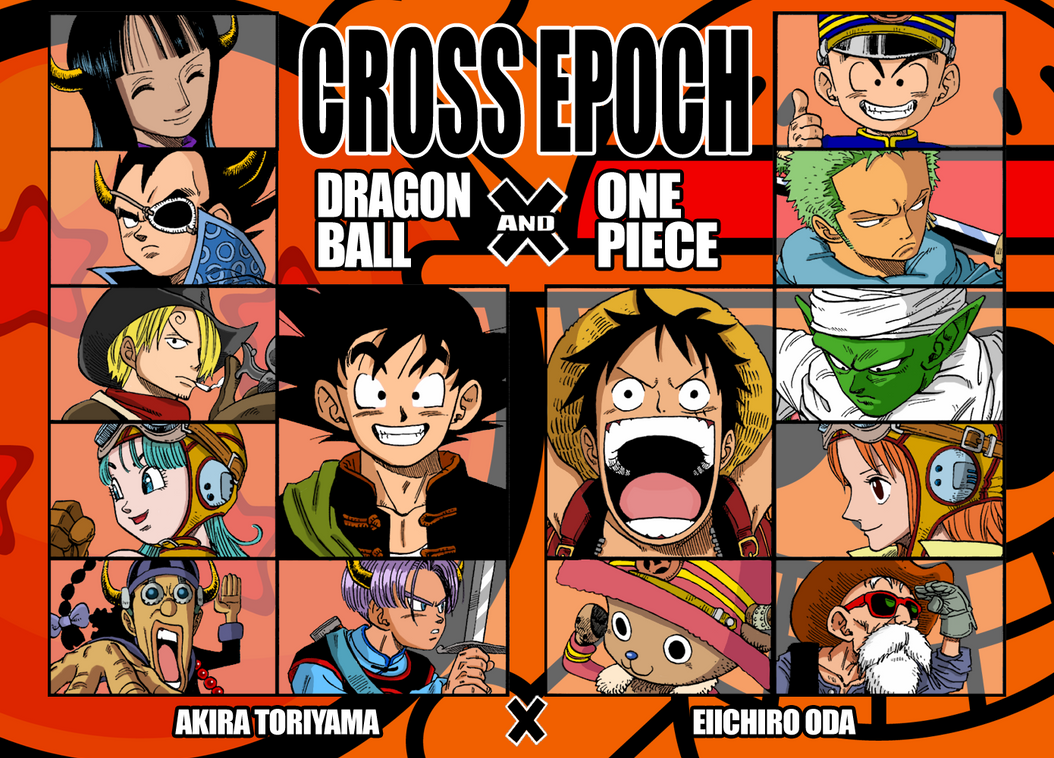 Cross epoch by sergiart on deviantart - Dragon ball one piece ...