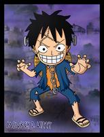 Luffy - Halloween 2011 by SergiART