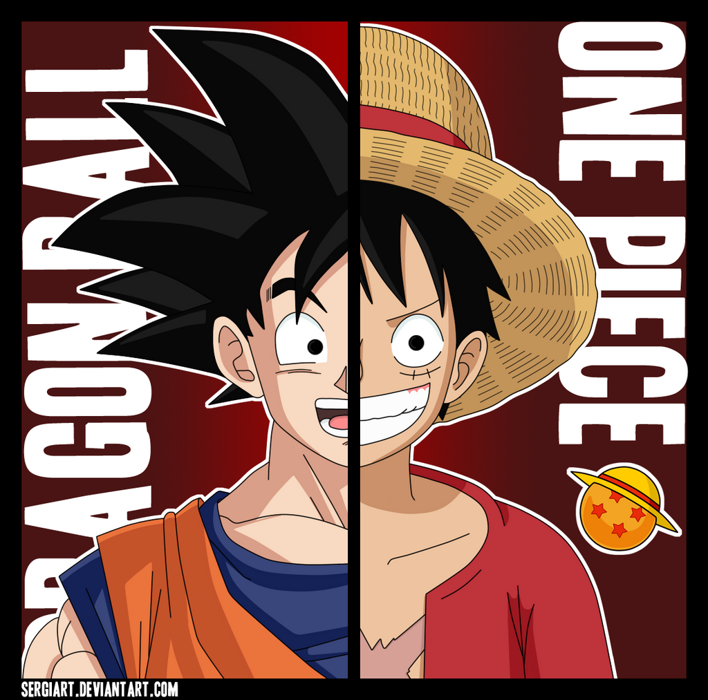 Dragon ball x one piece by sergiart on deviantart - Dragon ball one piece ...