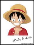 Monkey D. Luffy portrait