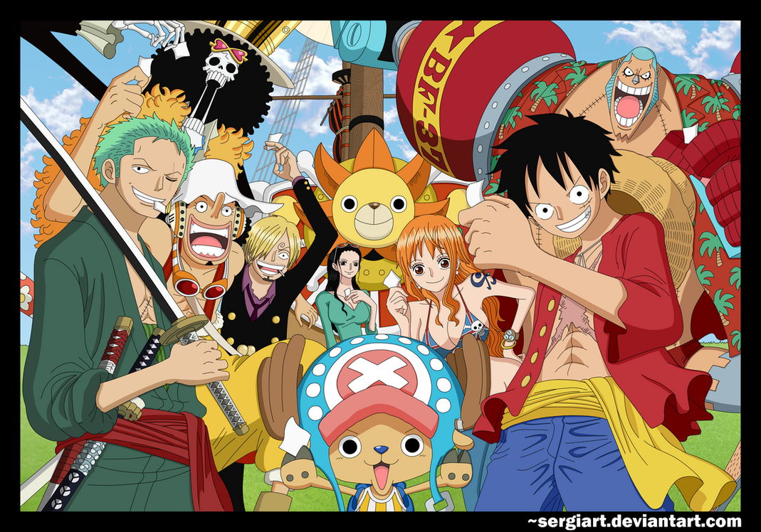 straw hat pirates after 2 years wallpaper wwwpixshark
