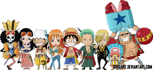 Chibi Straw Hat Pirates