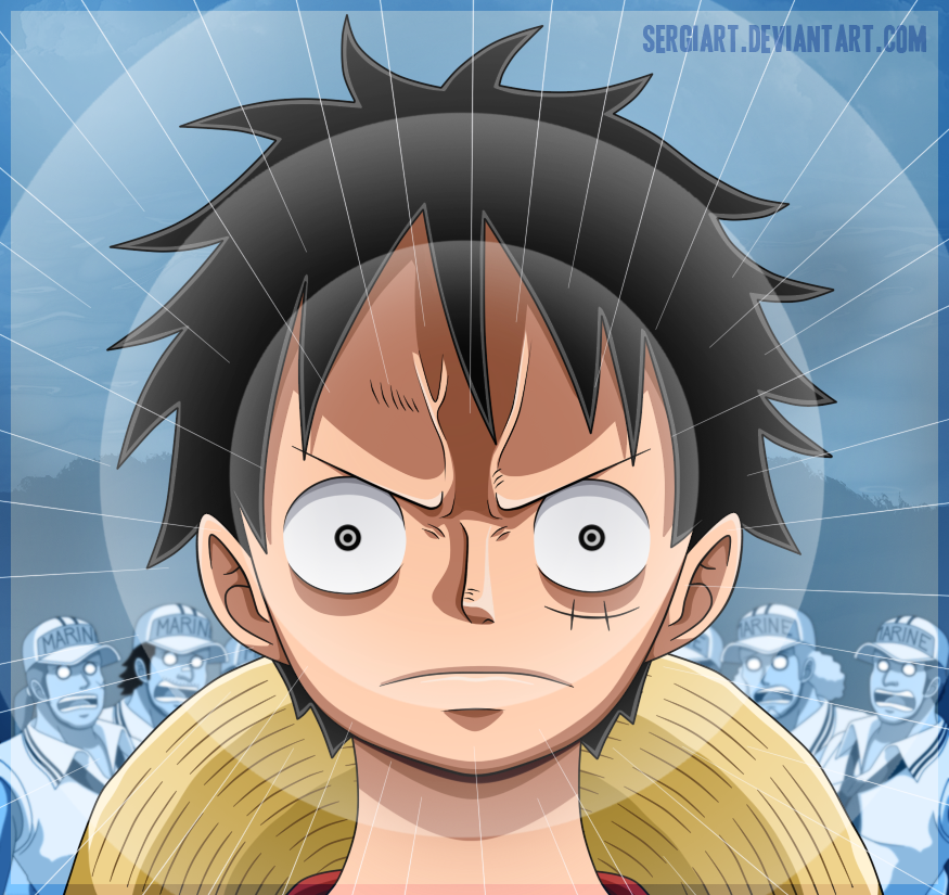 One Piece - The power to conquer all by SergiART