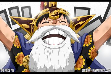 One Piece 719 - C Block Winner: Lucy by SergiART
