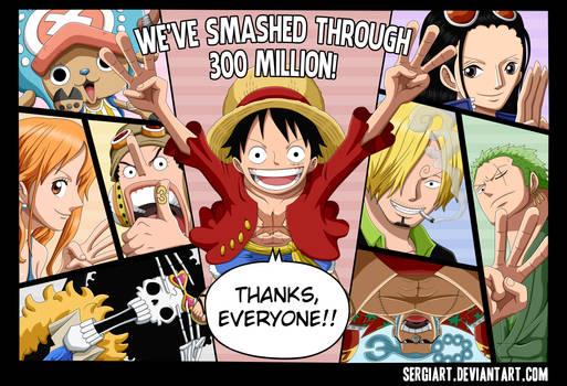 One Piece - 300,000,000