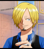 One Piece - Love Cook Sanji by SergiART