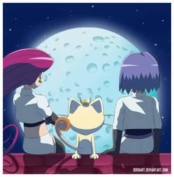Pokemon - Not alone by SergiART