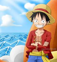 One Piece - Monkey D. Luffy by SergiART