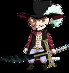 One Piece - Chibi Mihawk