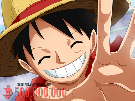 Wanted #1 - Monkey D. Luffy