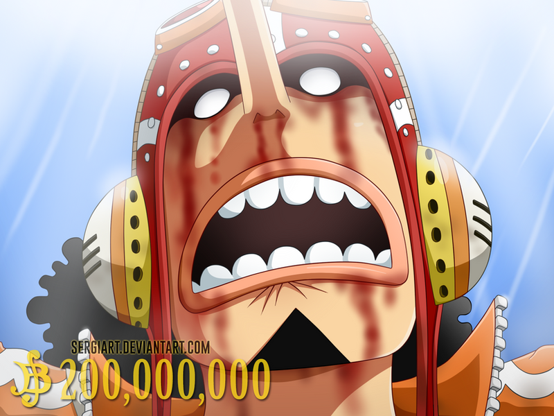 Wanted #4 - God Usopp ...