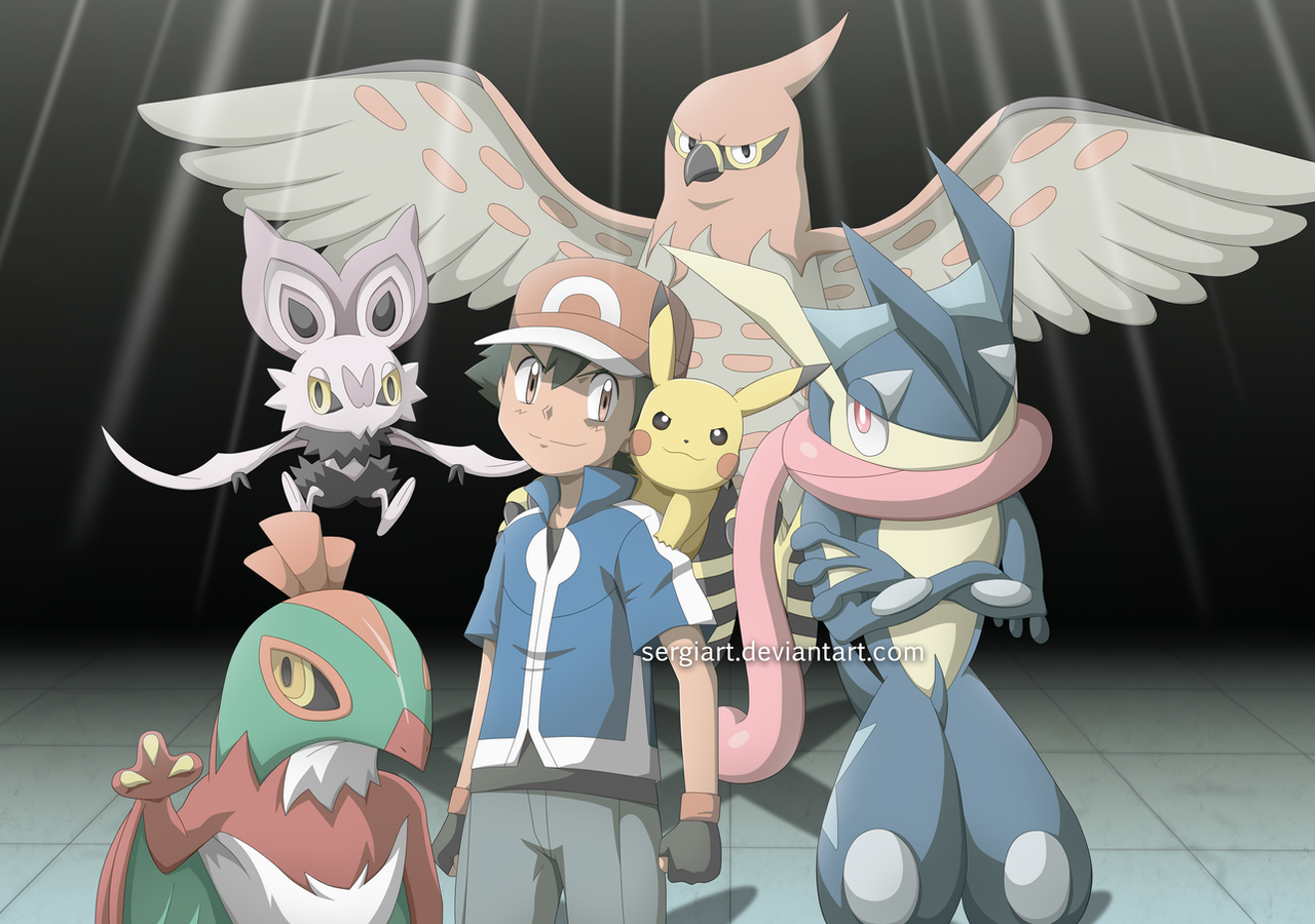 pokemon xy and z - ikuze!! by sergiart on deviantart