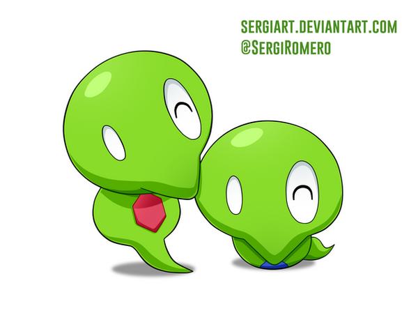 Who Is Squishy In Pokemon Xyz : Day 5 - Core Zygarde by SergiART on DeviantArt