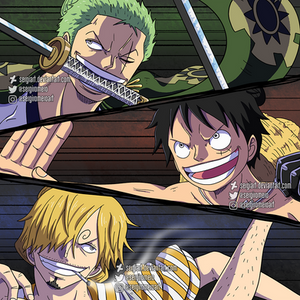 One Piece - Monster trio
