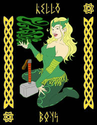 Enchantress - Bettie Page Style