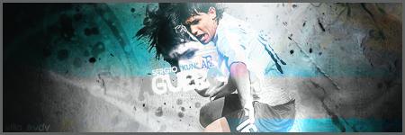 ~ Global Foot ~ Forum de Management sur PES 2011 - Portail Kun_Aguero_Football_Signature_by_DavidVilla7