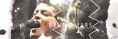 Bruno Mars Signature by DavidVilla7