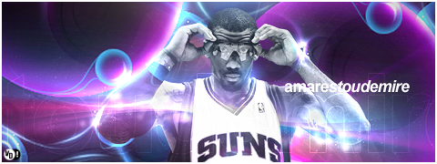 Amare Stoudemire NBA Signature by DavidVilla7
