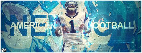 Newton American Football Signature by DavidVilla7