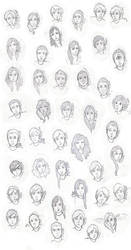 Percy Jackson characters - demigods by renesmeecullen51
